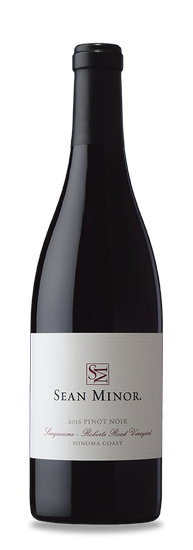 2016 Sean Minor Pinot Noir Sangiacomo Roberts Road